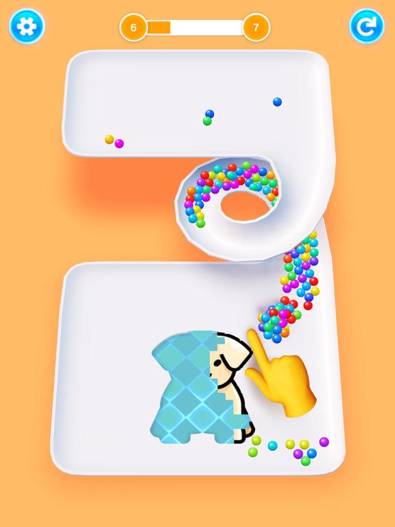 Color 3D Balls screenshot 8