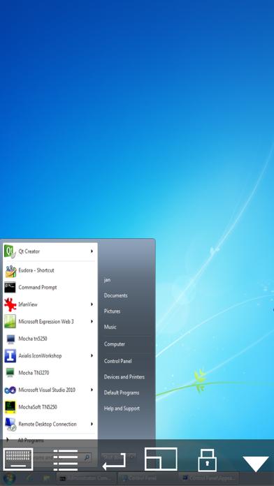 Mocha VNC Lite screenshot three