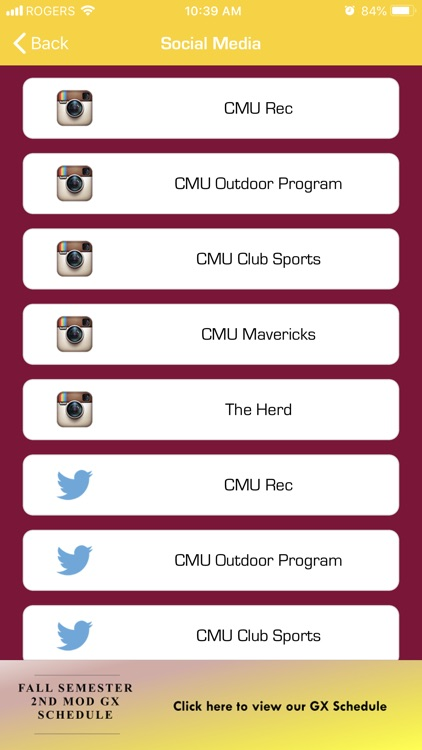 CMU Campus Rec screenshot-3