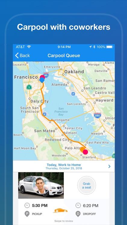 Duet-Shuttle, Transit, Carpool screenshot-3