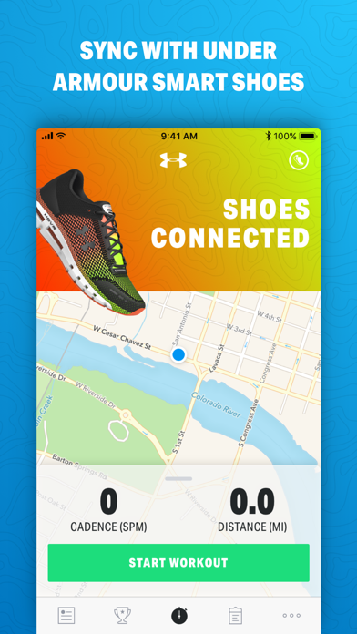 Map My Run by Under Armour Screenshot on iOS