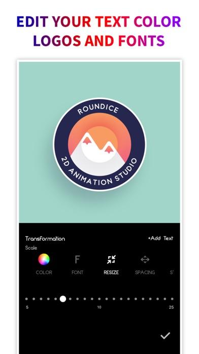 Screen Shot Logo Maker + Logo Creator 6