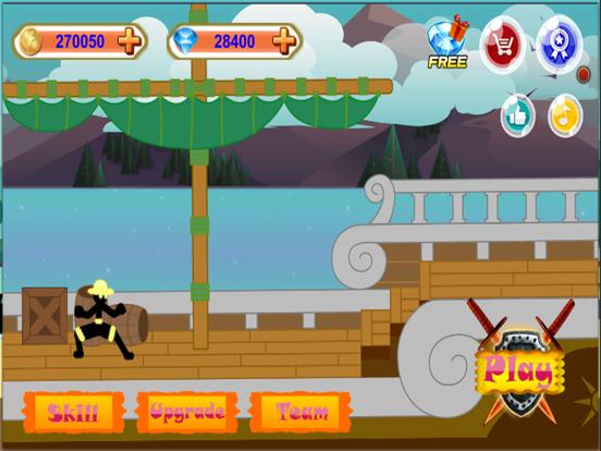 Stick Hero Pirate Fight Man screenshot 8