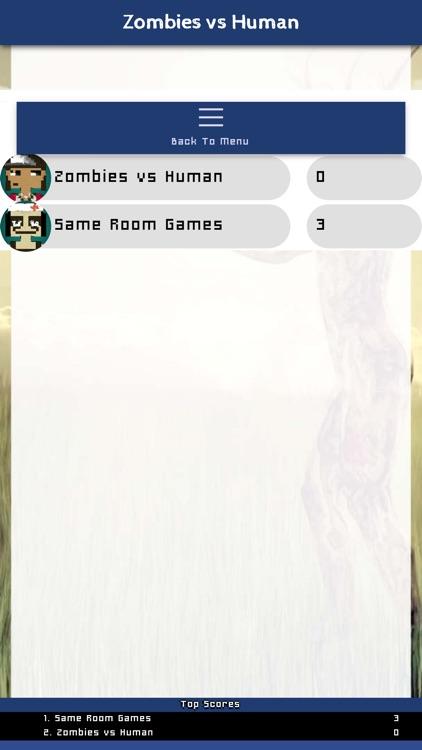 Zombies vs Human Same Room screenshot-6