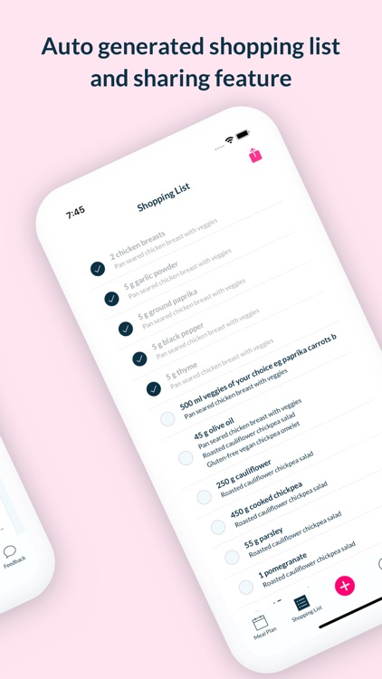 Foodjo meal plan assistant screenshot-4