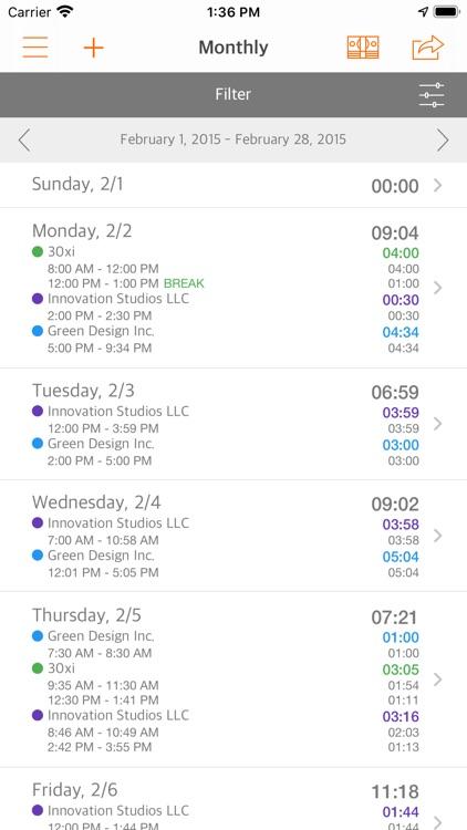 Easy Hours screenshot-4