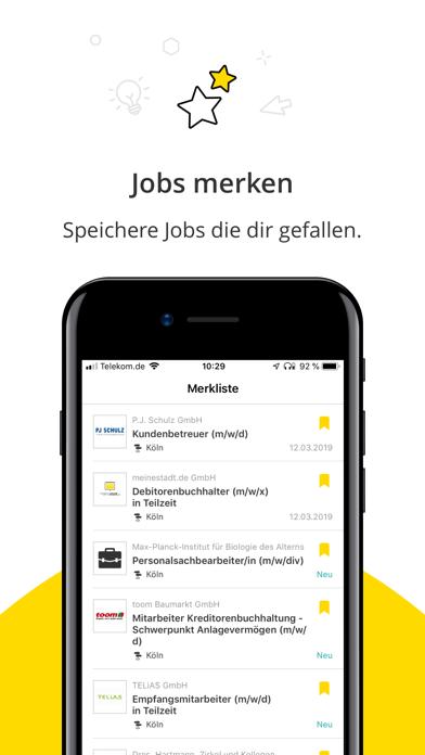 Jobbörse - Deine JobsucheScreenshot von 5