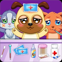 Pet Doctor Animals Caring Game