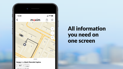 messages.download maxim — order taxi & delivery software