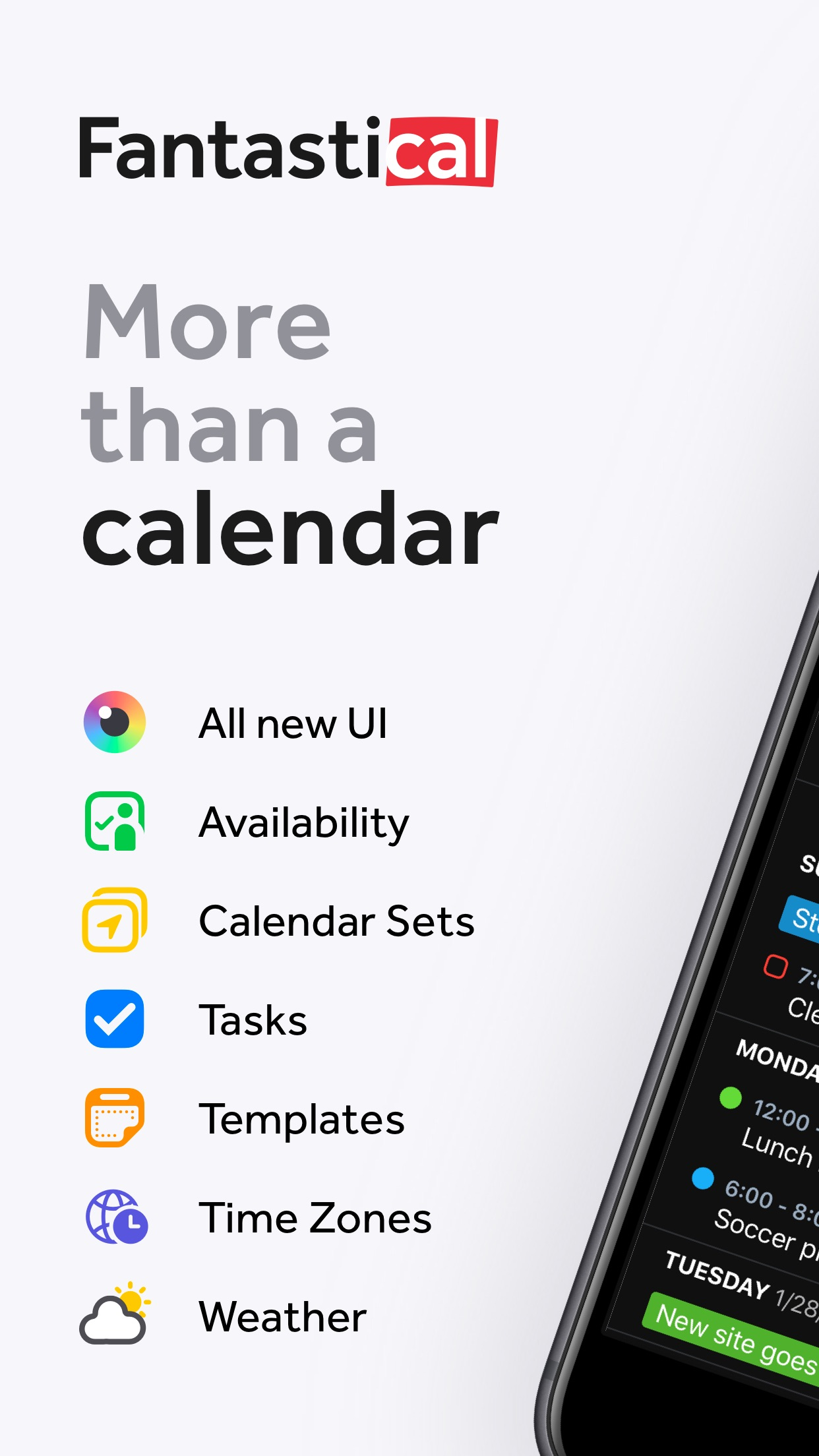 Fantastical - Calendar & Tasks Screenshot