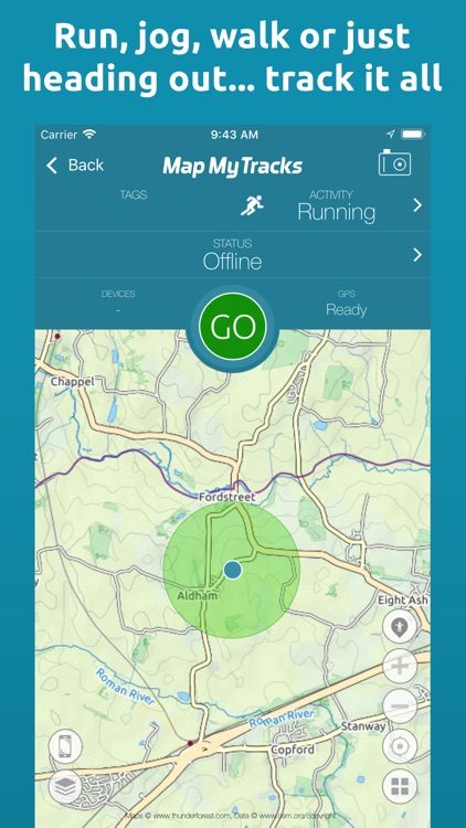 Map My Tracks: run tracker pro by Tinderhouse
