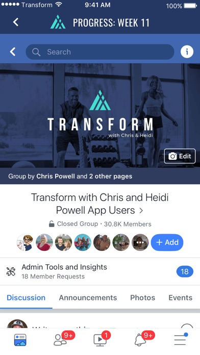 Transform with Chris and Heidi