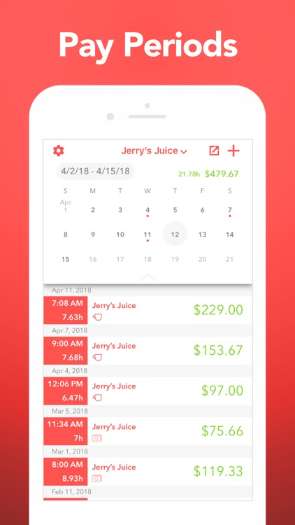 Clock In: Track Hours & Pay screenshot-3