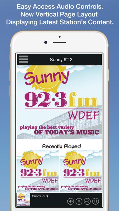 Sunny 92.3 screenshot one
