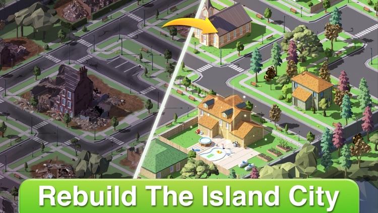 Mystery Island: Decor & Match3