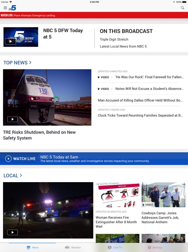 NBC 5 Dallas-Fort Worth on the App Store