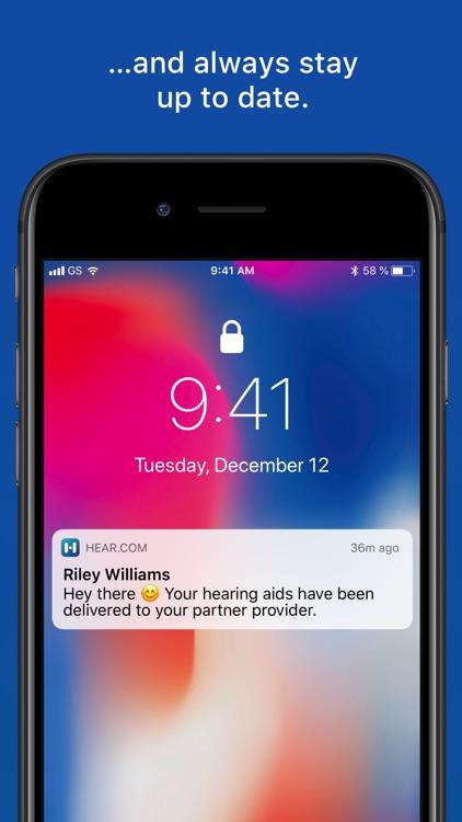 The official hear.com App screenshot-3