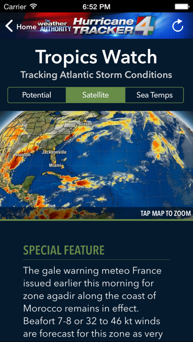 WJXT Hurricane Trackerのおすすめ画像2