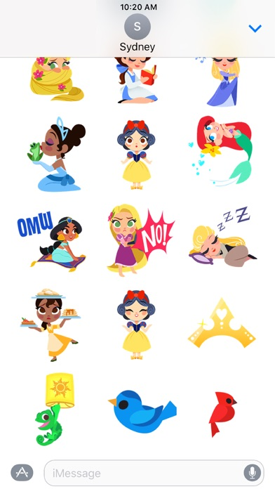 Disney Stickers: Princess
