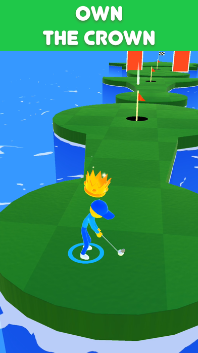 Golf Race screenshot 2
