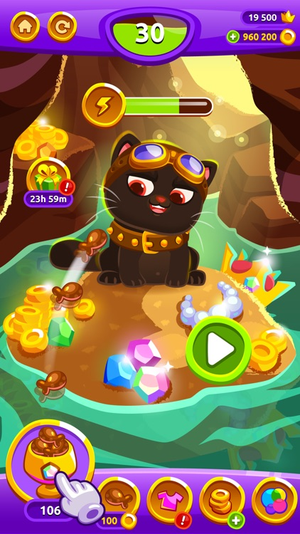 Bubbu Jewels - Merge Puzzle screenshot-3