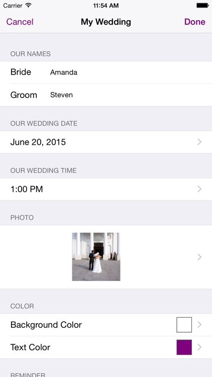 Tie The Knot Wedding Countdown screenshot-4