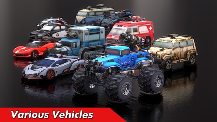 Overload: Car Shooting Racing screenshot-3