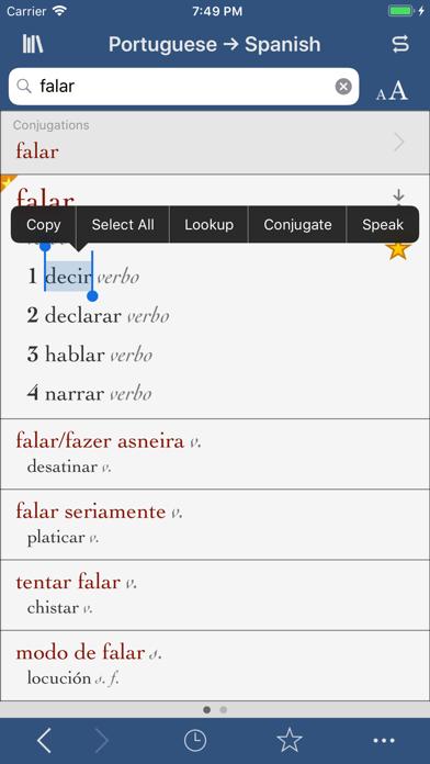 Ultralingua Spanish-Portugueseのおすすめ画像1