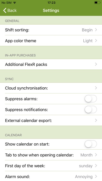 FlexR (Shift planner) screenshot-2