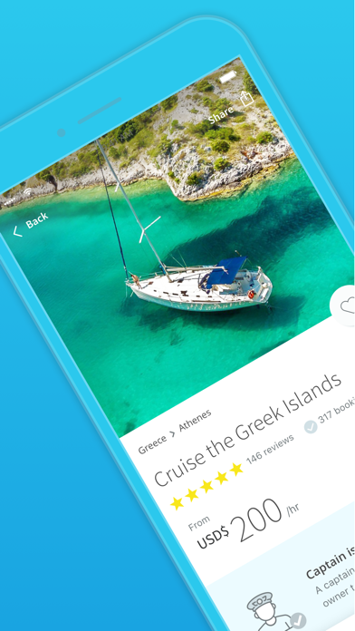 GetMyBoat - Boat Rental & Yacht Charter screenshot