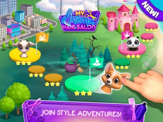 My Animal Hair Salon World screenshot 16