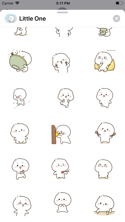Little One Animated Stickers screenshot-5