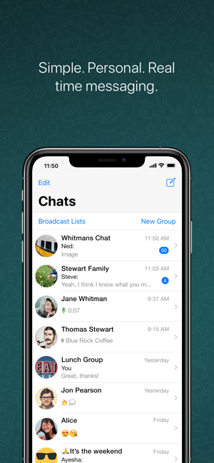 Whatsapp Messenger On The App Store
