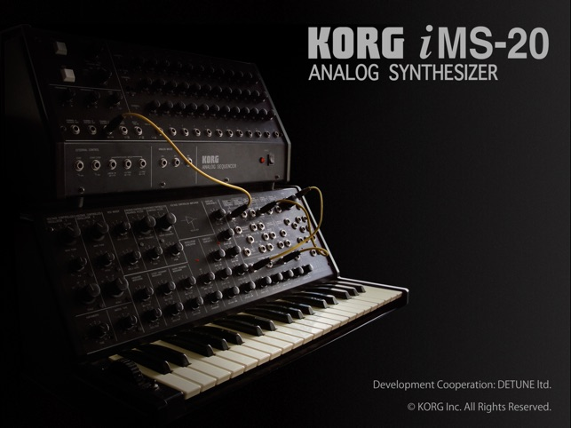 KORG iMS-20 Screenshot