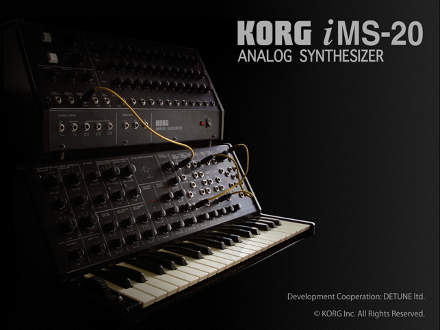‎KORG iMS-20 Screenshot