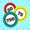 ルーレット・カード内臓のビンゴゲーム-ビンゴール750 - iPhoneアプリ