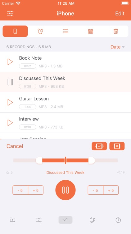 Voice Recorder HD + screenshot-3