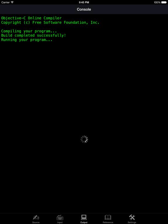 Objective-C Programming Language screenshot