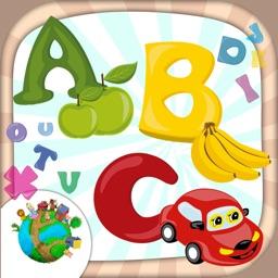 Alphabet coloring book games