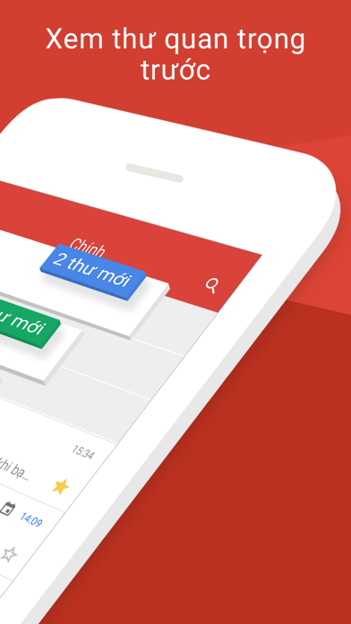 Screenshot for Gmail của Google in Viet Nam App Store