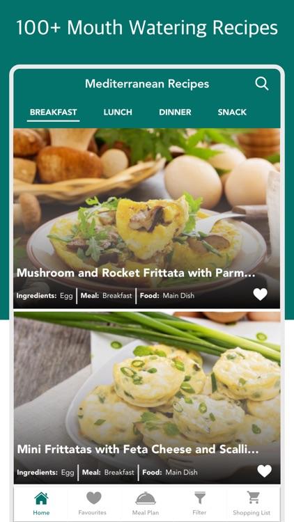 Mediterranean Diet & Recipes by CONTENT ARCADE DUBAI LTD FZE