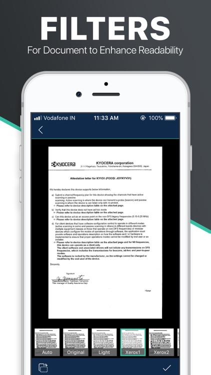 Scanner App - Document Scan screenshot-3
