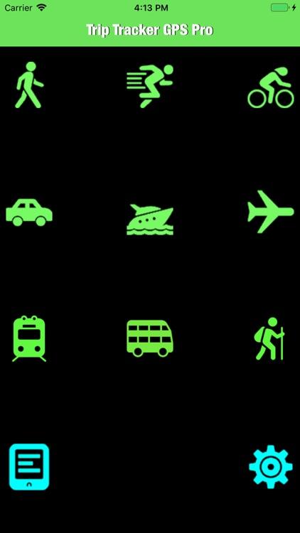 Trip Tracker GPS Professional screenshot-0