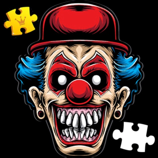 Jigsaw Puzzles Clown Horror