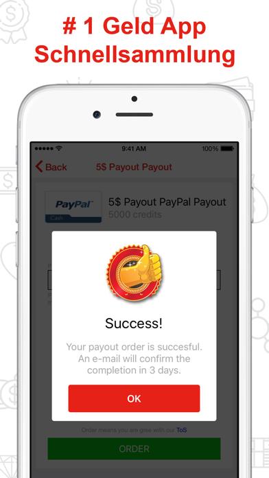 Geld App - Bargeld BelohnungenScreenshot von 2