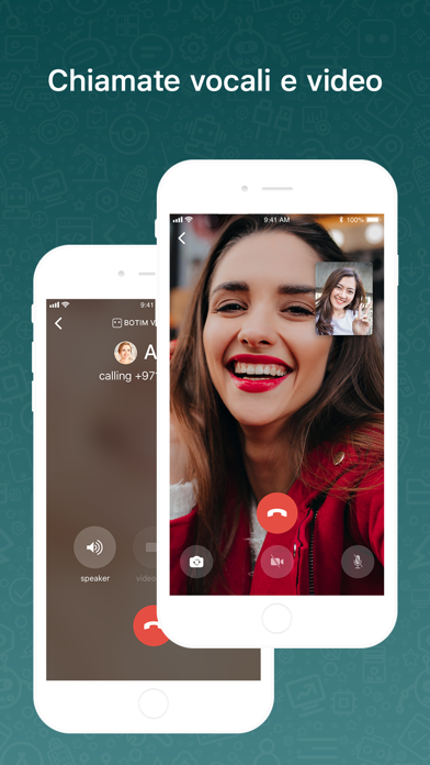 Screenshot for BOTIM - videochiamate e chat in Italy App Store