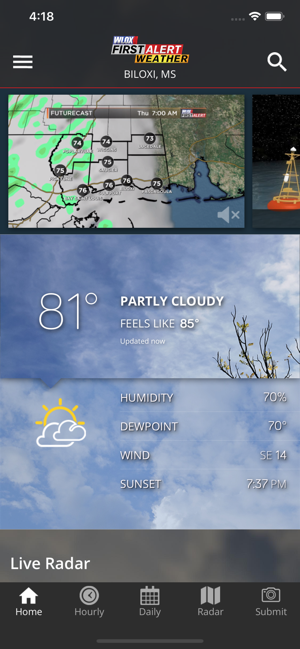 Wlox Weather On The App Store