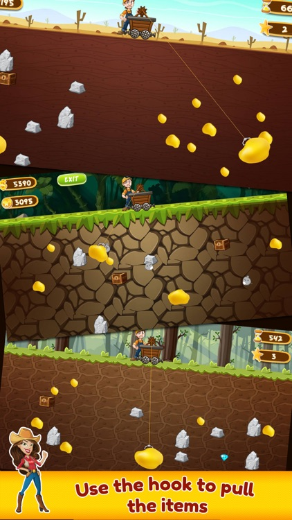 Gold Miner: Classic Game screenshot-1