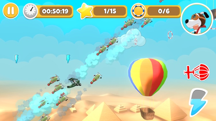 Pets & Planes - Air Race screenshot-4