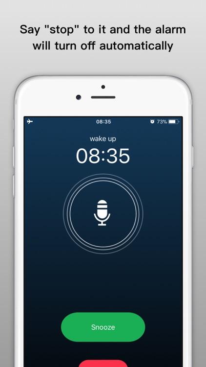 Bedside Clock - music alarms screenshot-3